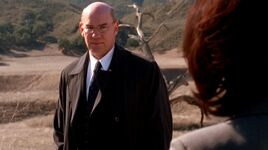 Monica Reyes views Walter Skinner