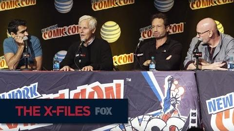 THE X-FILES New York Comic Con The Mythology FOX BROADCASTING