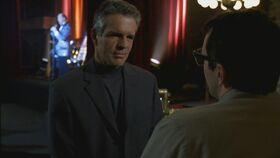 Rose talks to blackmailer Jeff Strode