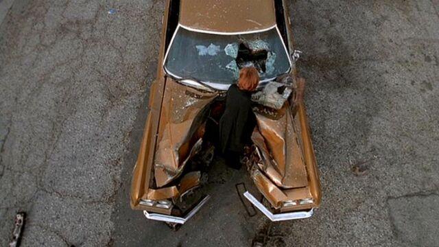File:Dana Scully examines car wreck.jpg
