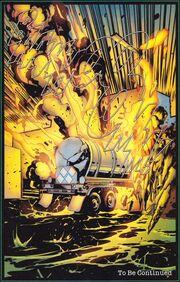 TXF3 truck explosion