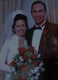 Walter Skinner with Sharon Skinner married