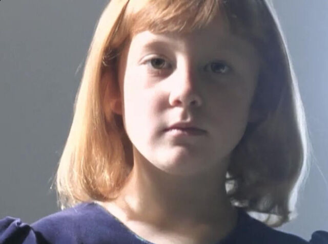 File:Child Dana Scully Christmas Carol Childhood.jpg