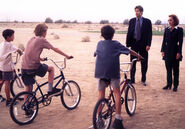 New Bicycles Texas Boys Mulder Scully