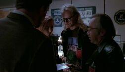 Lone Gunmen Scully Triangle