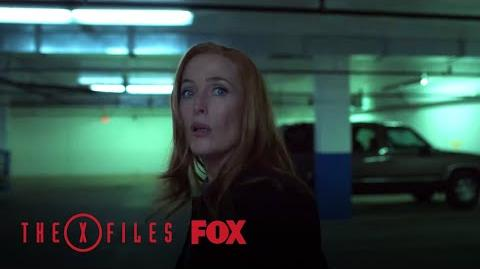 Scully Meets With The Stranger Season 11 Ep. 4 THE X-FILES