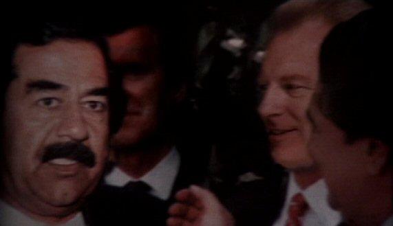File:Saddam Hussein with Morris Fletcher.jpg
