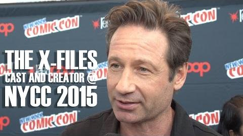 The X-Files entrevistas en el New York Comic Con 2015