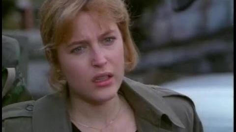 """The X-Files """"Fallen Angel"""" (Promo Spot)"""