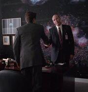 Fox Mulder with Marcus Aurelius Belt