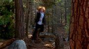Dana Scully is shaken by UFO