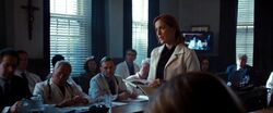 Dana Scully talks to On Screen Doctor
