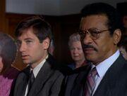 Reggie Purdue and Fox Mulder