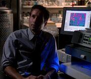 Fox Mulder restoring X-File