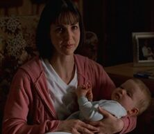 Theresa Hoese with baby