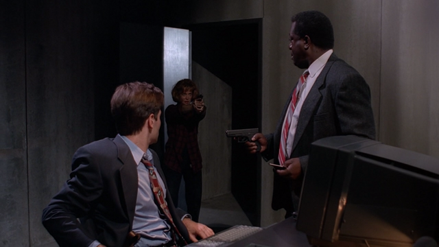 File:Ghost in the Machine Scully Saves Mulder.png