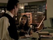 Buffy Summers and Rupert Giles discuss Xander Harris