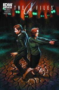 X-Files Season 10 cover artwork