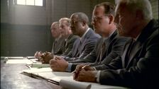 FBI Panel Overseeing Mulder's trial (The Truth)