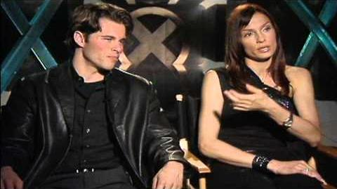 X-Men James Marsden & Famke Janssen Interviews
