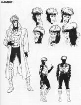 Gambit model sheet