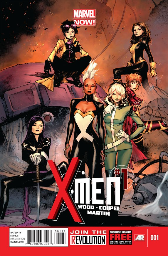 X-Men Vol 4 1