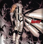 Magneto white suit