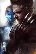X-Men-Days-of-Future-Past-poster-Wolverine-and-Mystique