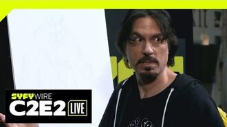 WATCH Marc Silvestri Draw Wolverine C2E2 2019 SYFY WIRE