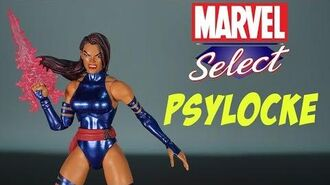 "Psylocke Marvel Select Action Figure Review Diamond X-Men 7"" Legends Action Features Toy Talk Toys"