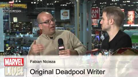 Learn the Origins of Deadpool with His Creator, Fabian Nicieza, on Marvel LIVE! from NYCC 2014