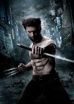 Wolverine film plakat bez tekstu