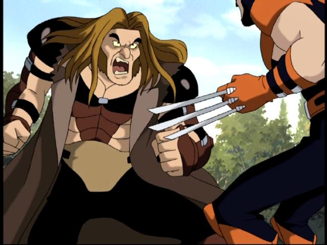 Image Sabertooth X Men Evolution 3 Jpg X Men Fanon Wiki