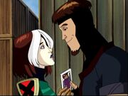 Rogue and Gambit (X-Men Evolution)