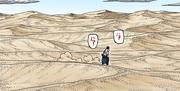 Kaguya's desert dimension