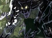 Lightning Style Black Panther -animeipics