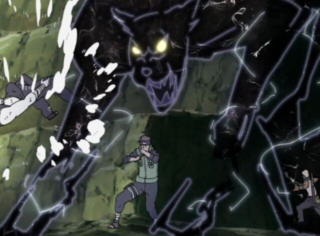 File:Lightning Style Black Panther -animeipics.jpg