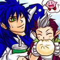 Sonic and Chip A glutton by maruringo.jpg