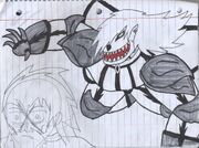 Dark Zack VS Korin