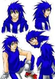 Human Sonic practice ver 2 by maruringo