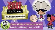 Xavier Riddle and the Secret Movie I Am Madam President! PBS KIDS