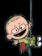 Brad on a rope