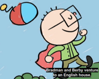 Bradman and Berby in Bronte ep