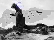 Feather Godzilla