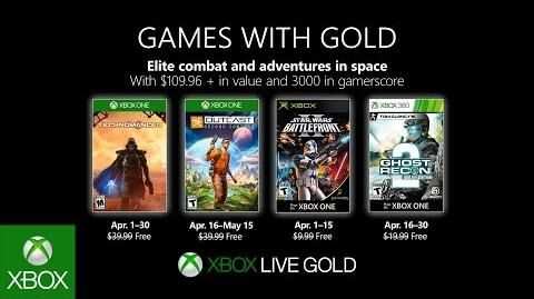 Xbox - April 2019 Games with Gold-1