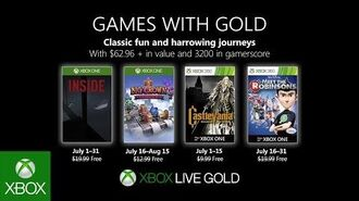 Xbox - July 2019 Games with Gold