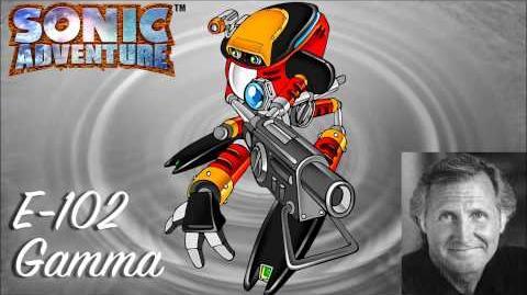 E-102 Gamma Voice clips ~ Steve Broadie (Sonic Adventure)