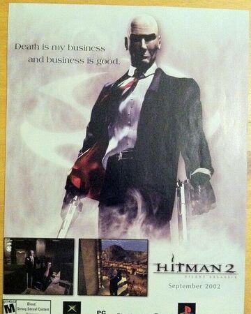Hitman 2 Silent Assassin Poster Xbox Wiki Fandom