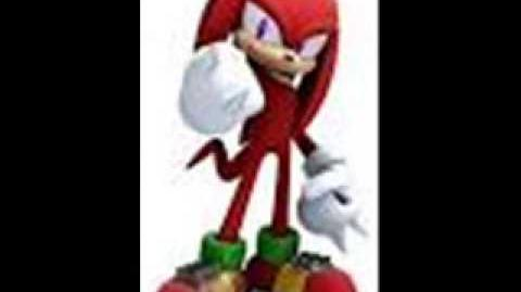 Sonic 2006 Knuckles's Unused Free Mode Voices