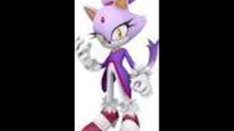 Sonic 2006 Blaze's Unused Free Mode Voices